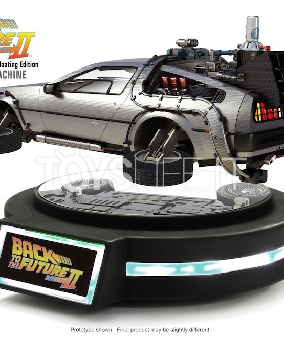 Kids Logic Back To The Future Ii Delorean Floating Version