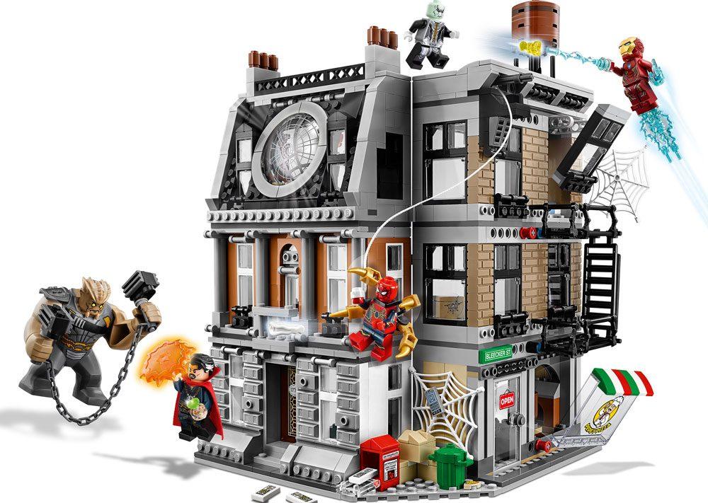 Lego Marvel Super Heroes Avengers Infinity Gauntlet Dr ...