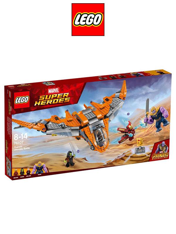 Lego Marvel Super Heroes Avengers Thanos Ultimate Battle - TOYSLIFE
