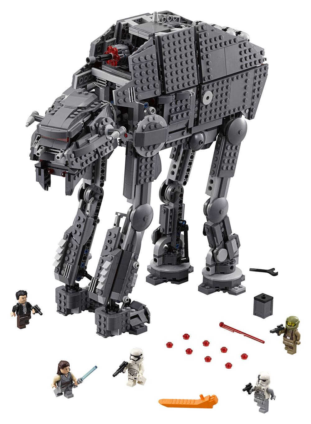 lego star wars the last jedi at at assault walker toyslife. Black Bedroom Furniture Sets. Home Design Ideas