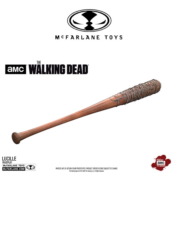 Mcfarlane The Walking Dead Lucille Negan Bat Replica 1 1