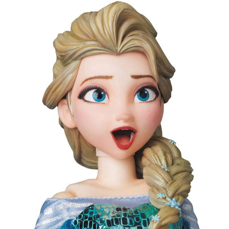 Medicom Frozen Elsa Rah 1 6 Figure Toyslife