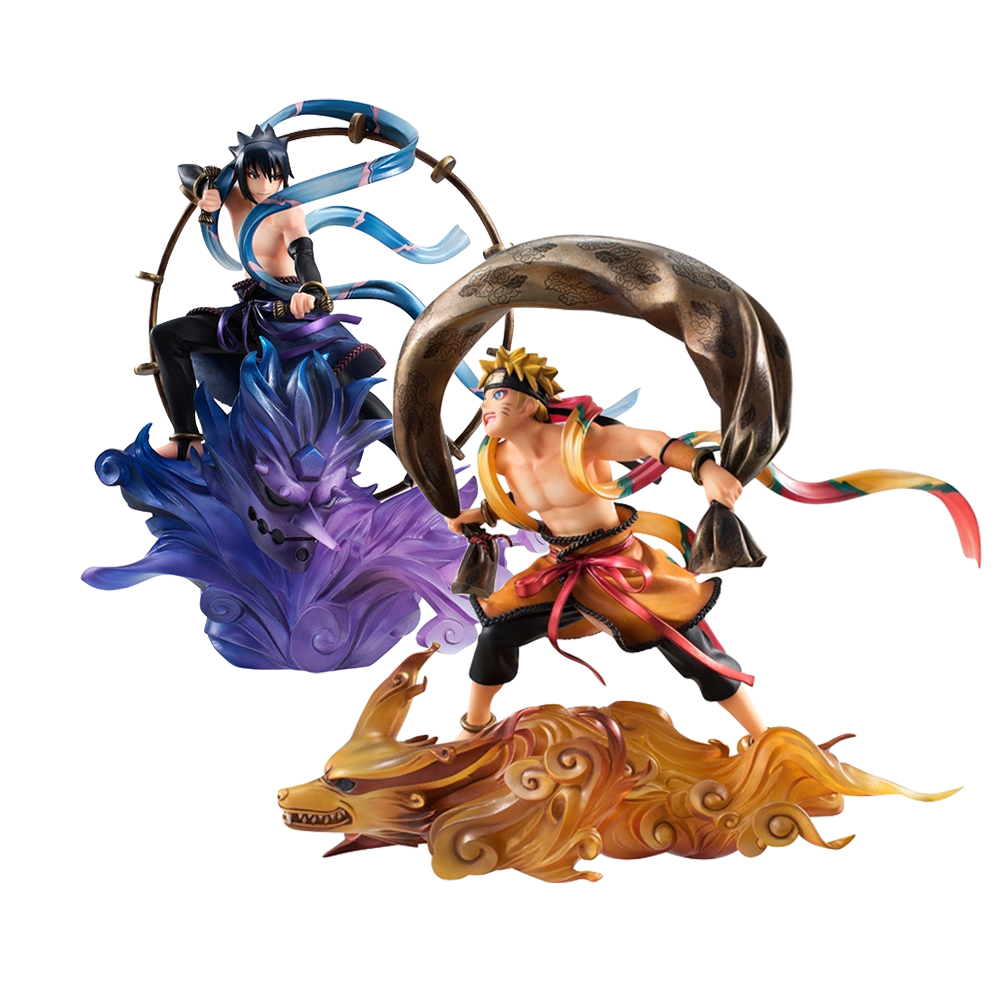 megahouse-naruto-fujin-and-raijin-remix-gem-statue-set-toyslife