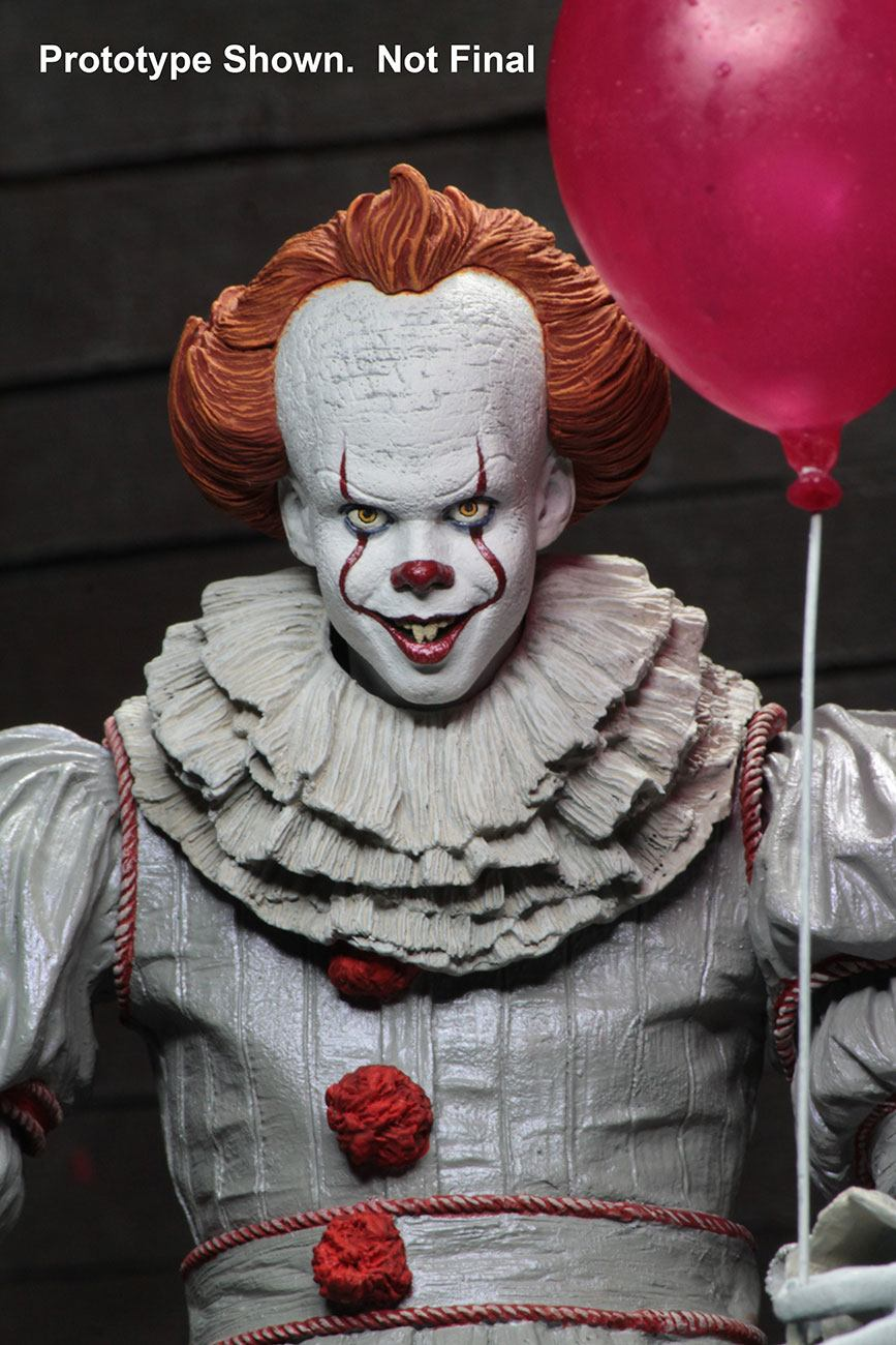 Neca 2017 It Pennywise Ultimate Figure Toyslife