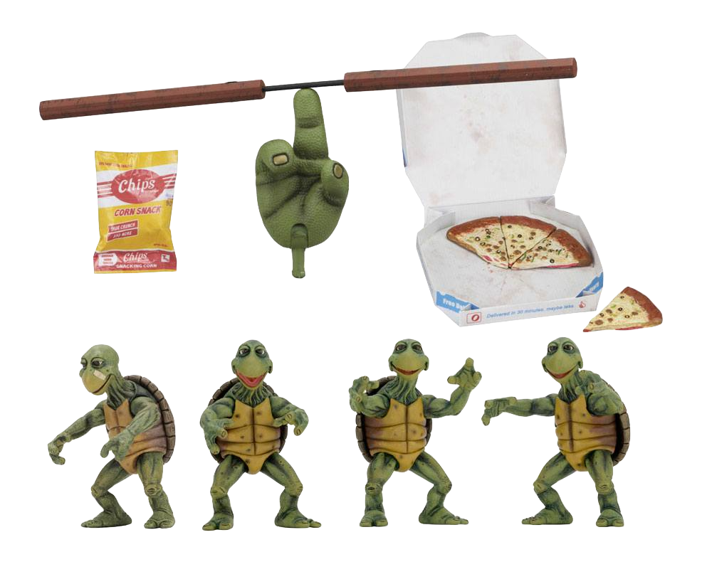neca-tmnt-baby-turtles-1:4-4-pack-set-toyslife
