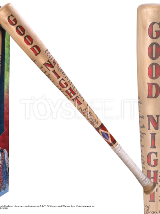 Noble Collection Suicide Squad Harley Quinn Baseball Bat 1