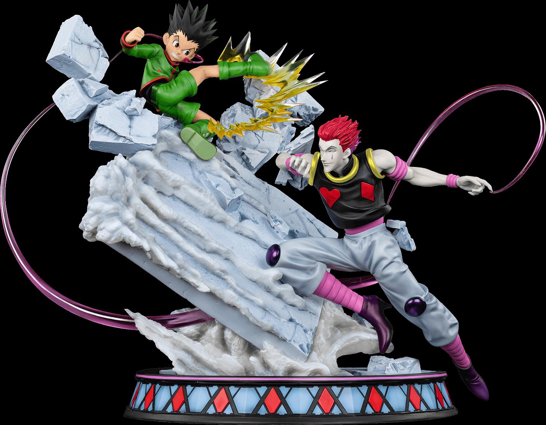 oniri-creations-hunter-x-hunter-gon-vs-hisoka-battle-at-the-heavens-arena-statue-toyslife