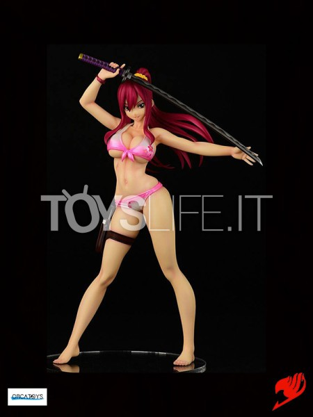 orca-toys-fairy-tail-erza-scarlet-swimwear-gravure-style-sakura-version-pvc-statue-toyslife-icon