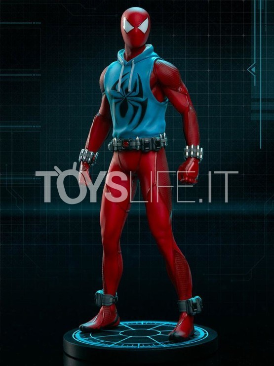 pop-culture-shock-marvel-spiderman-scarlet-spider-1:10-statue-toyslife-icon