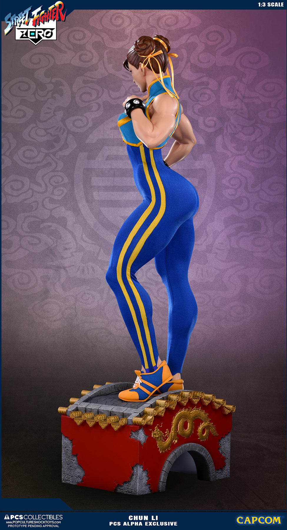 Pop Culture Shock Street Fighter Chun Li 1 3 Statue Alpha