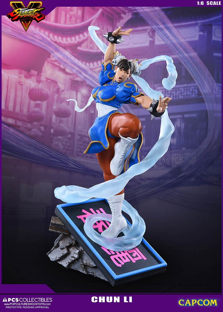 Pop Culture Shock Street Fighter Chun Li V Trigger 1 6