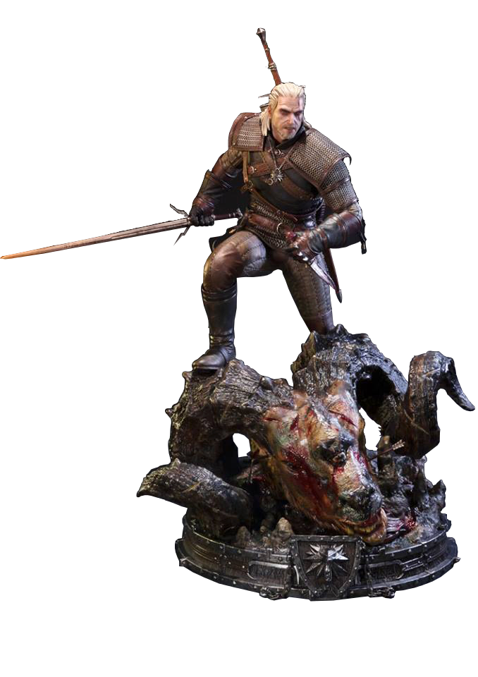 prime-1-studios-the-witcher-wild-hunt-geralt-of-rivia-statue-toyslife