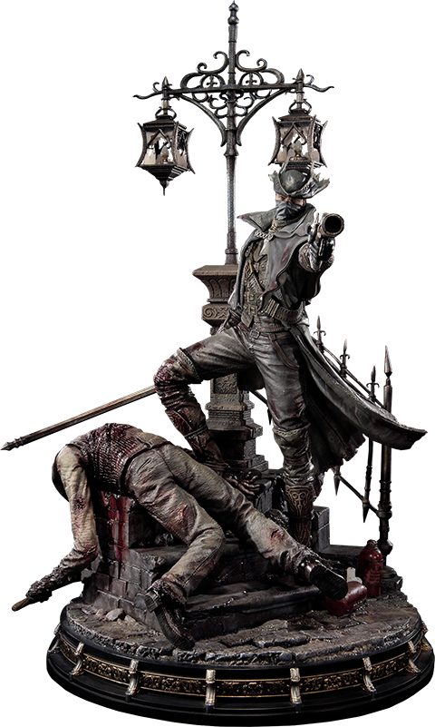 prime1- studio-bloodborne-the-hunter-statue-toyslife