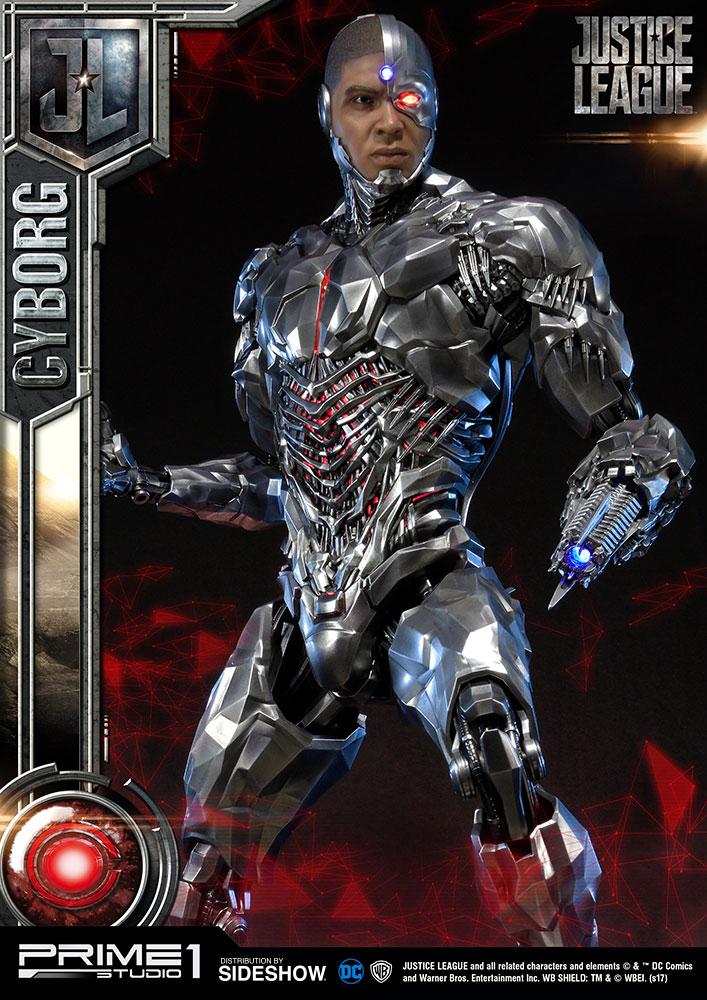 Hot Un Stock >> Prime 1 Studio Justice League Cyborg 1:3 Statue   TOYSLIFE