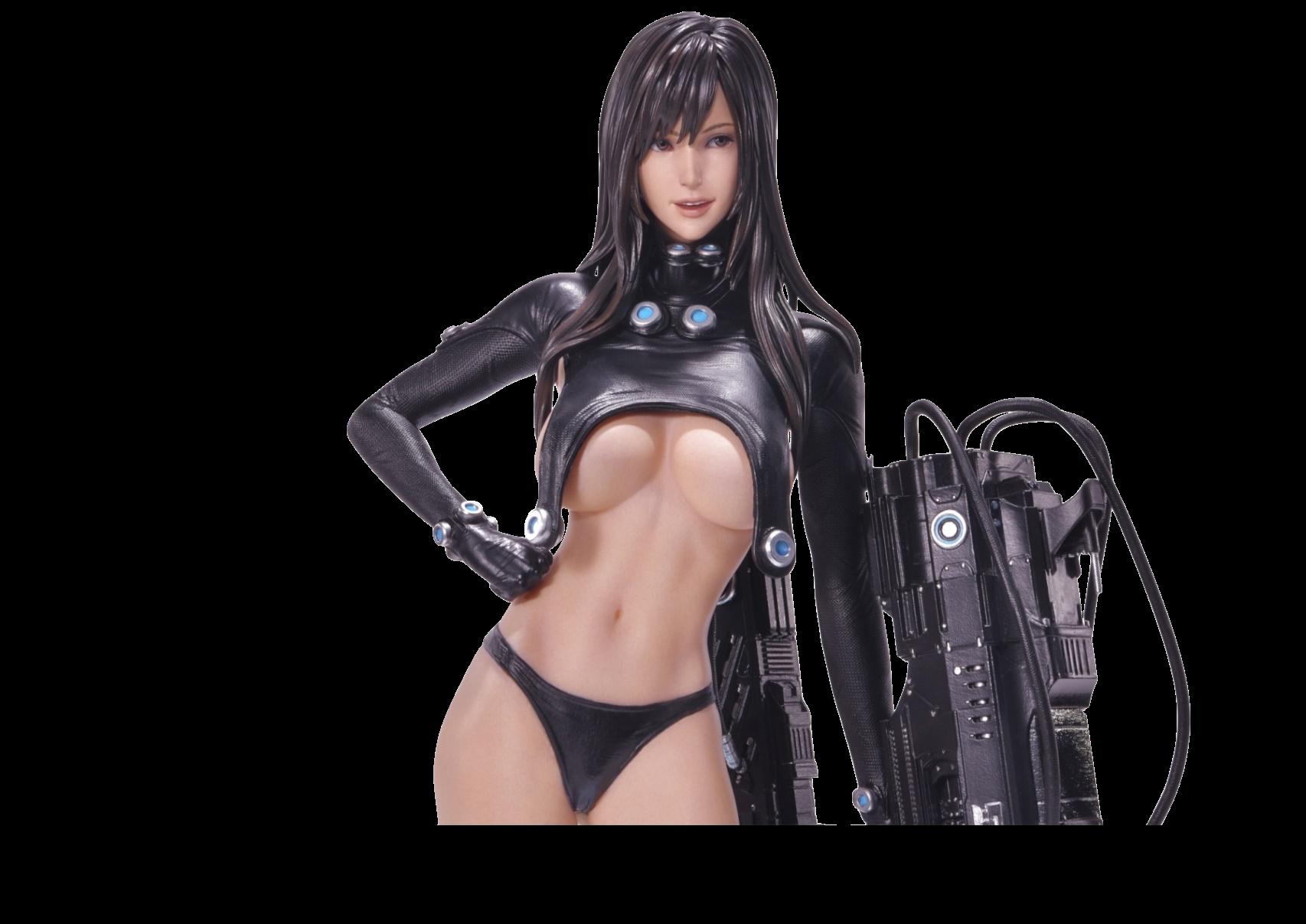 prime1-studio-gantz-reika-black-edition-1:4-statue-toyslife
