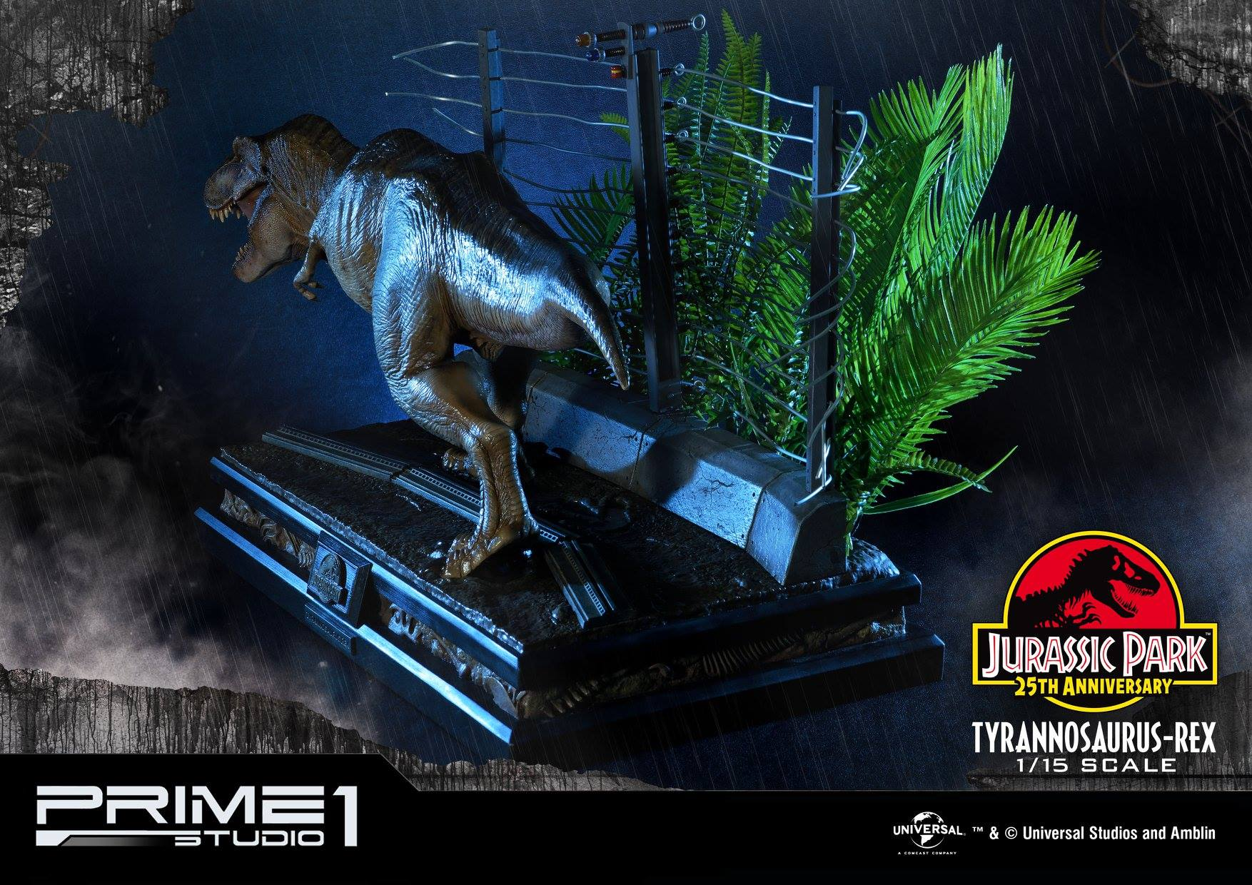 Prime 1 Studio Jurassic Park Tyrannosaurus Rex 115 Statue Toyslife 1993 15 Lightbox Prev Next Prime1 T