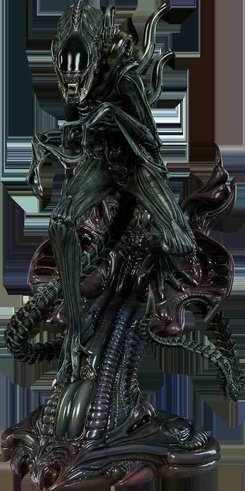 sideshow-aliens-alien-warrior-statue-toyslife