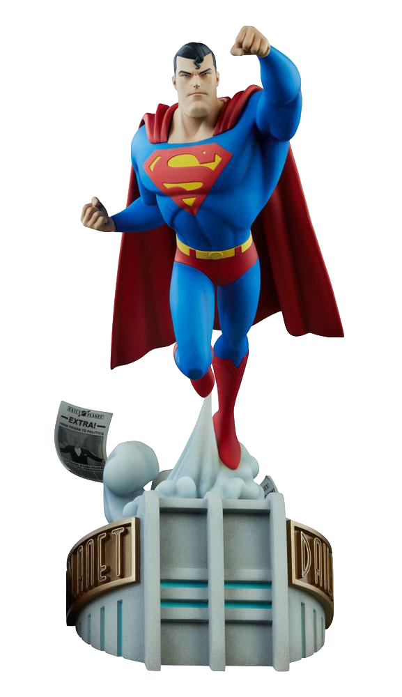 sideshow-batman-the-animated-series-superman-maquette-toyslife