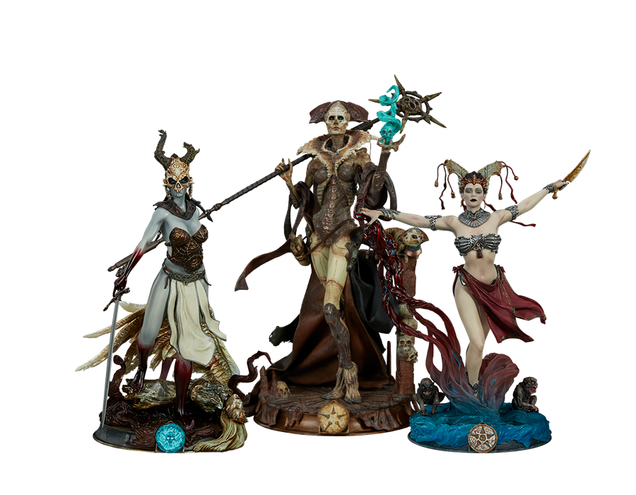 sideshow-court-of-the-dead-mini-statue-toyslife