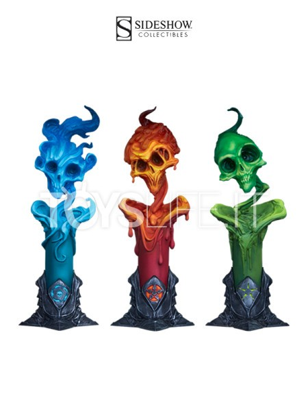 sideshow-court-of-the-dead-the-lighter-side-of-the-darkness-factions-candle-3-pack-set-toyslife-icon