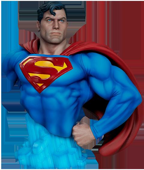 sideshow-dc-comics-superman-1:4-bust-toyslife