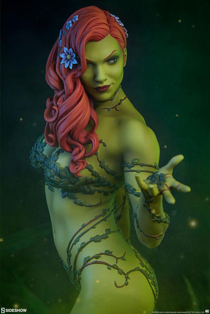 Sideshow Dc Comics Poison Ivy Premium Statue Toyslife