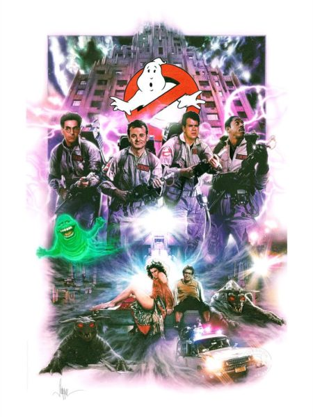 sideshow-ghostbusters-unframed-art-print-toyslife-icon