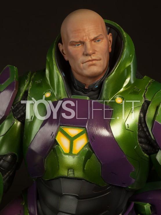 Sideshow Lex Luthor Power Suit Premium Format Toyslife