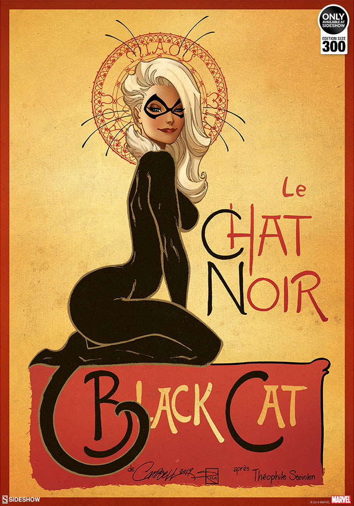 sideshow-marvel-black-cat-exclusive-signed-art-print-by-js-campbell-toyslife-icon