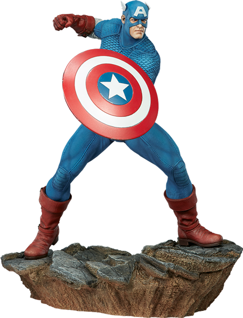 sideshow-marvel-captain-america-avengers-assemble-statue-toyslife
