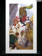 sideshow-marvel-comics-spiderman-vs-sinister-six-exclusive-art-print-toyslife-01