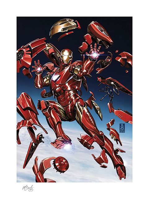 sideshow-marvel-comics-tony-stark-is-ironman-unframed-signed-art-print-toyslife