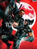 sideshow-marvel-comics-wolverine-vs-blade-unframed-art-print-toyslife-icon