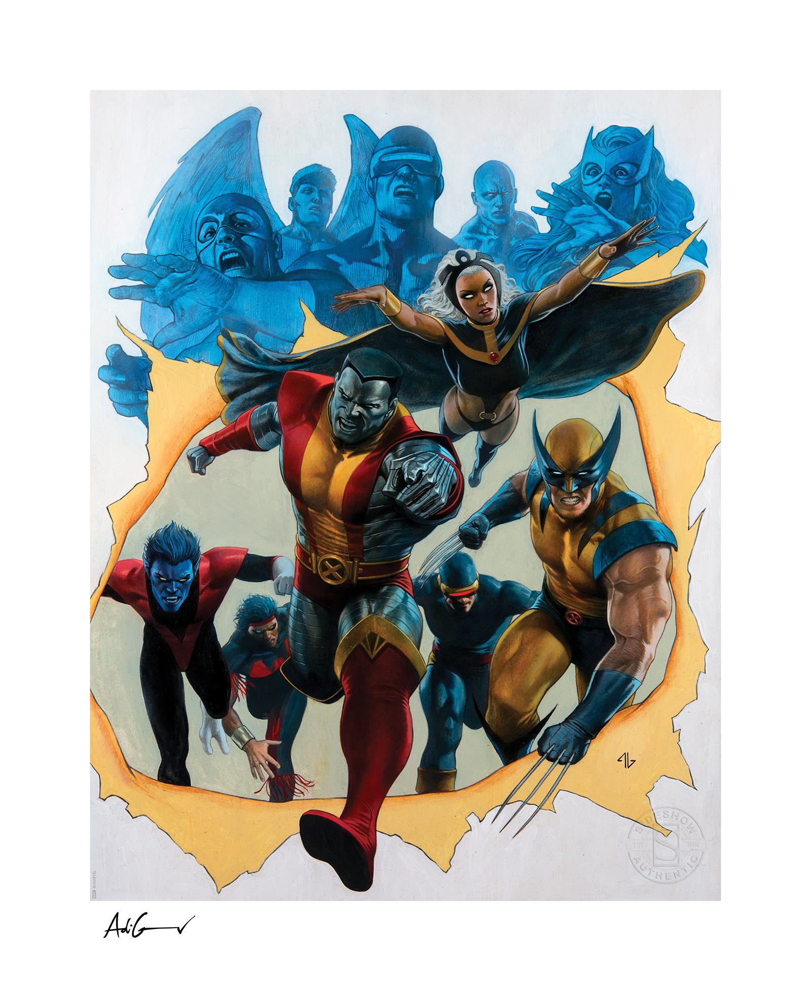 sideshow-marvel-comics-x-men-by-adi-granos-giant-size-exclusive-art-print-toyslife