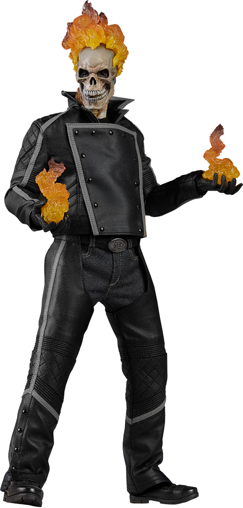 sideshow-marvel-ghost-rider-sixth-scale-toyslife