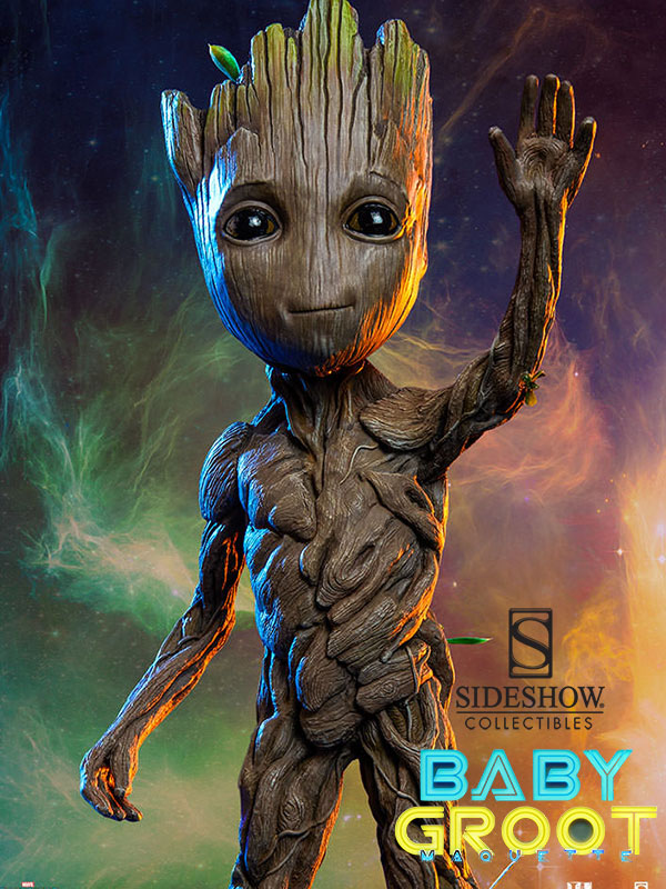 Sideshow Marvel Guardians Of The Galaxy Baby Groot 1 1
