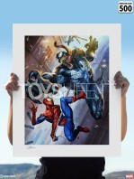 sideshow-marvel-spiderman-vs-venom-unframed-limited-art-print-toyslife-02