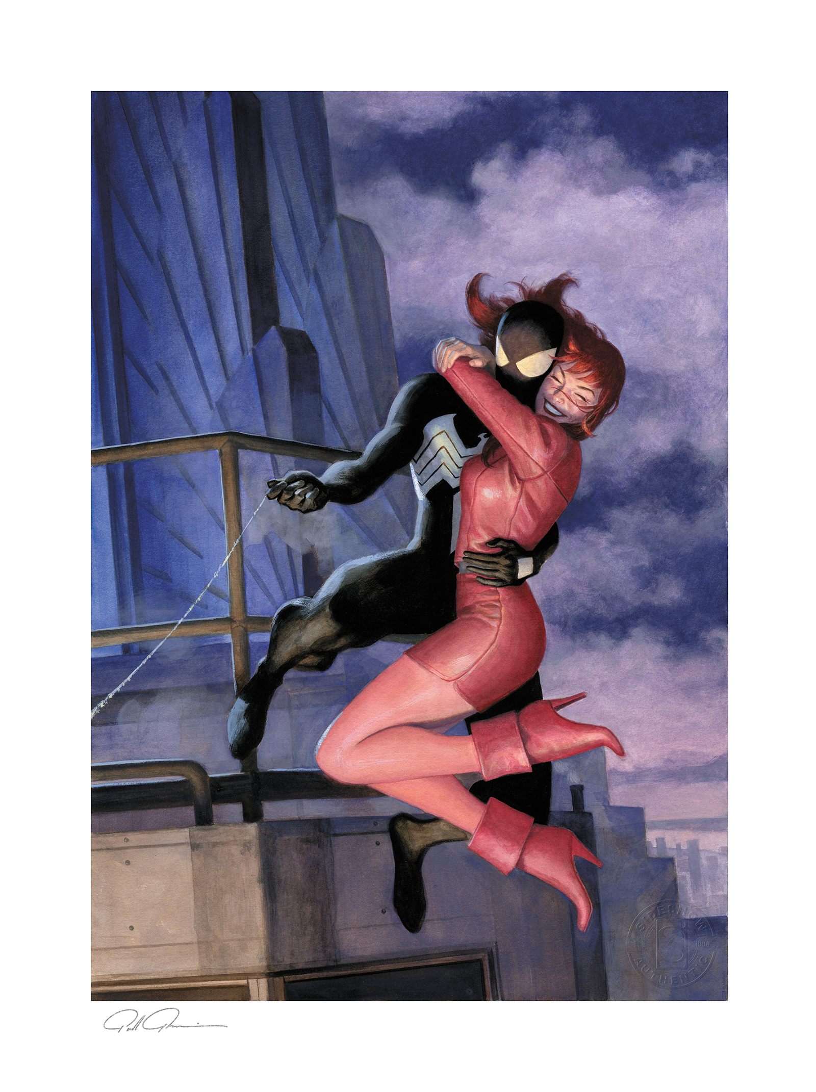 sideshow-marvel-the-amazing-spiderman-638-one-moment-in-time-unframed-art-print-toyslife