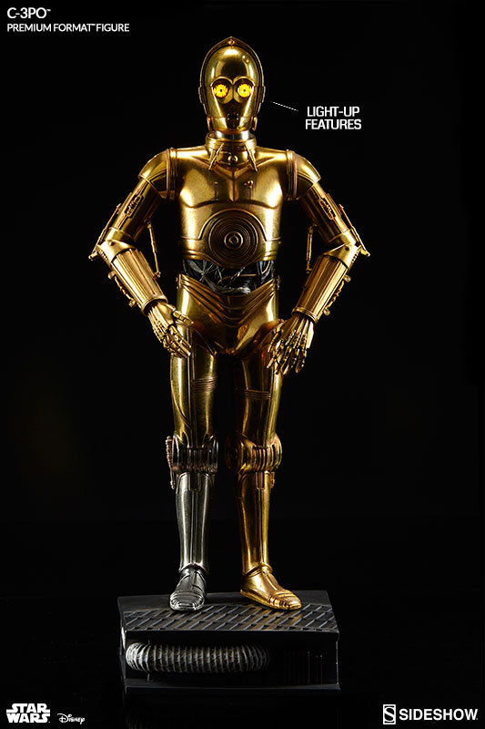 Sideshow Star Wars C3po Premium Format Toyslife