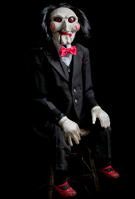 Trick Or Treat Studios Saw Billy Puppet Prop 1 1 Replica