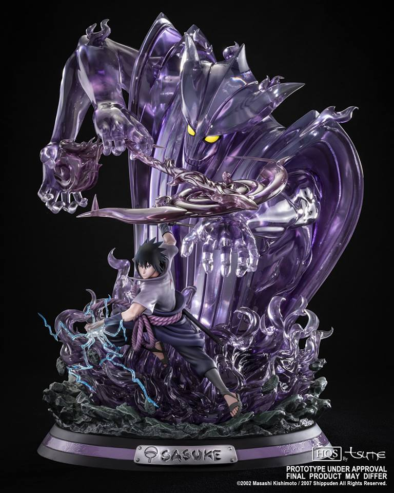 Tsume Art Naruto Shippuden Sasuke Uchiha HQS Statue