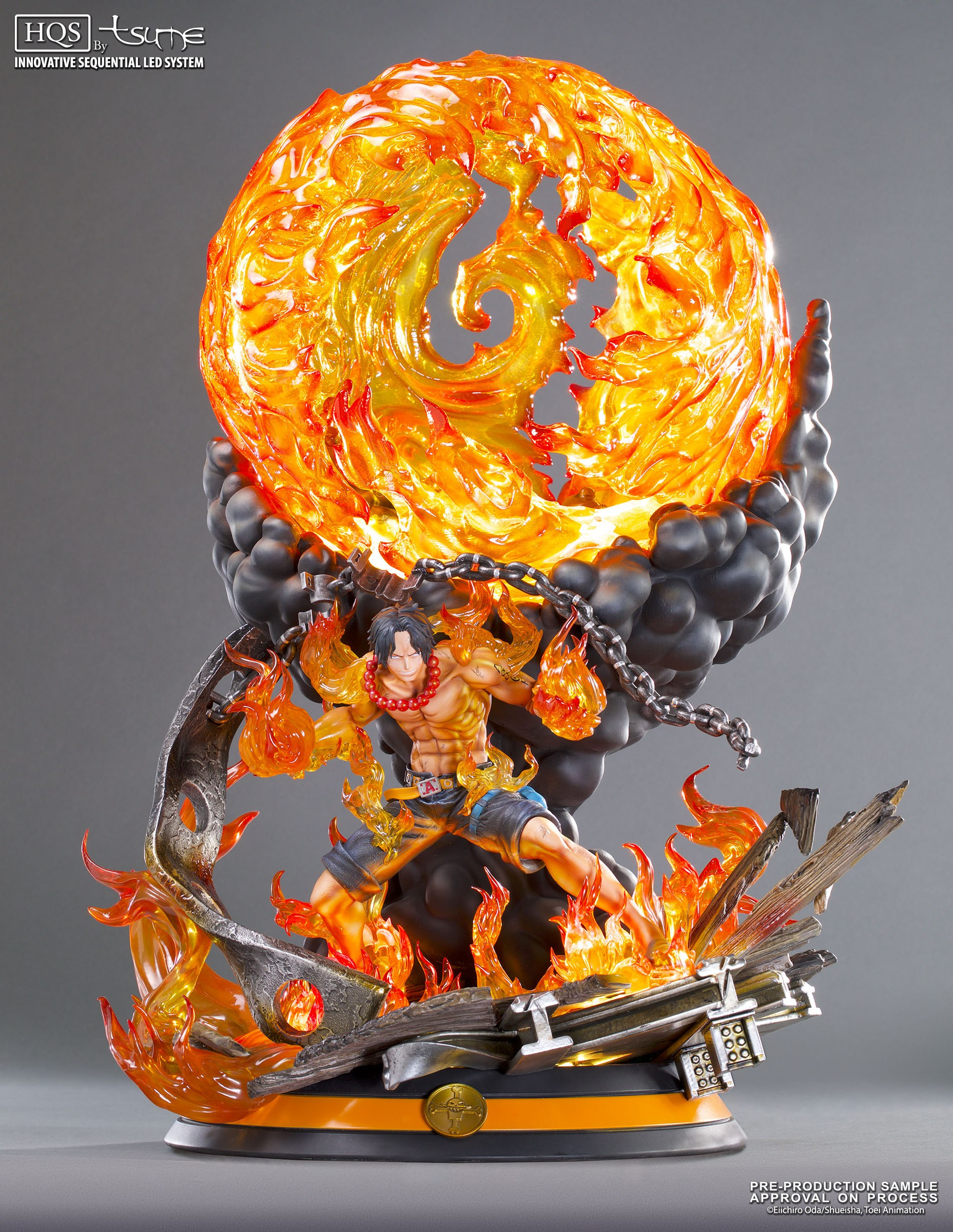 Tsume Art One Piece Portgas D. Ace HQS Statue