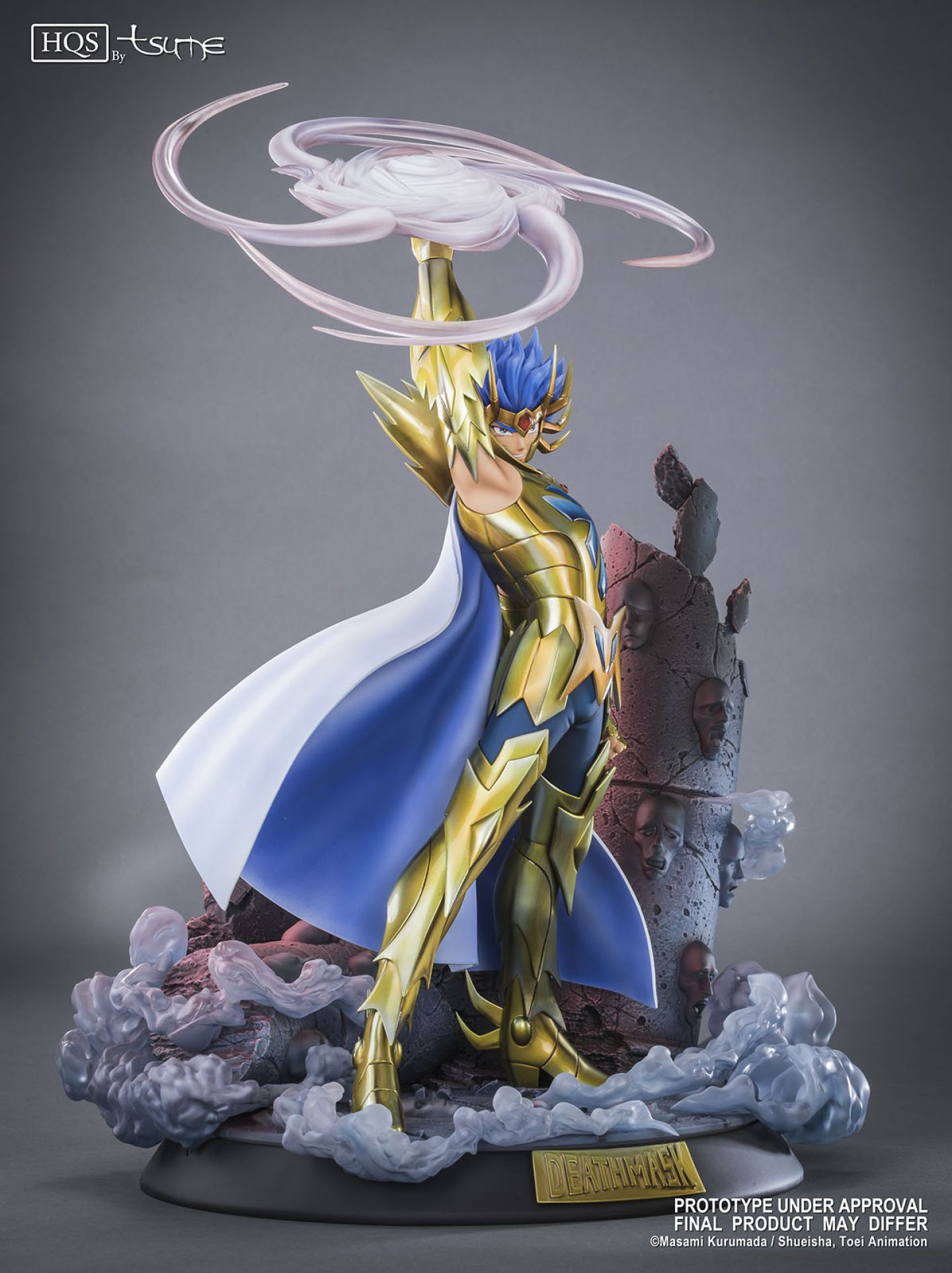 Tsume Art Saint Seiya Death Mask Cancer HQS Statue
