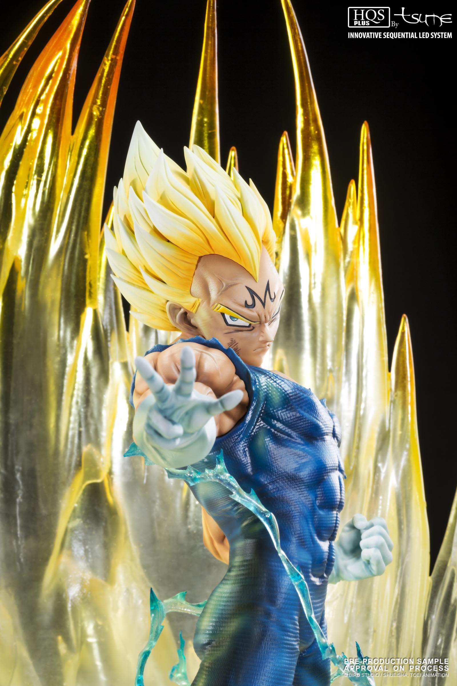 Tsume Art Dragonball Majin Vegeta HQS Plus Statue