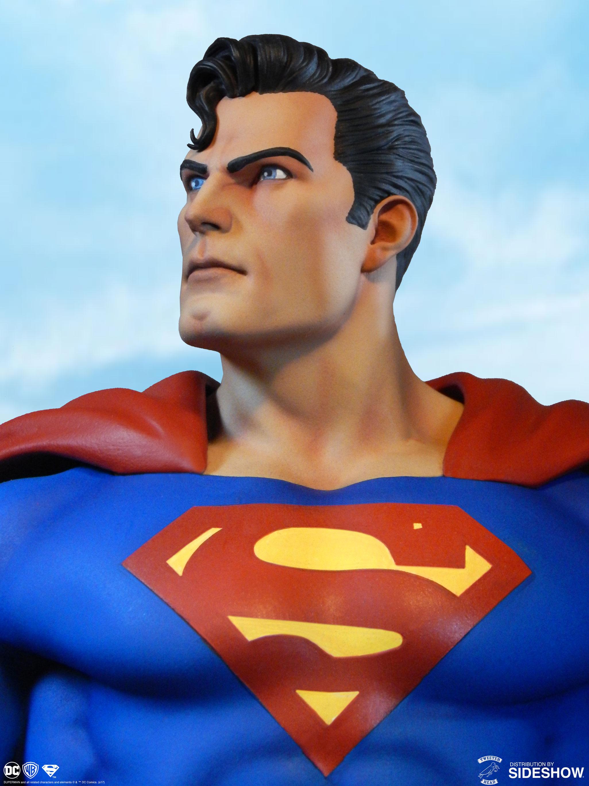 Tweeterhead Dc Comics Super Powers Collection Superman