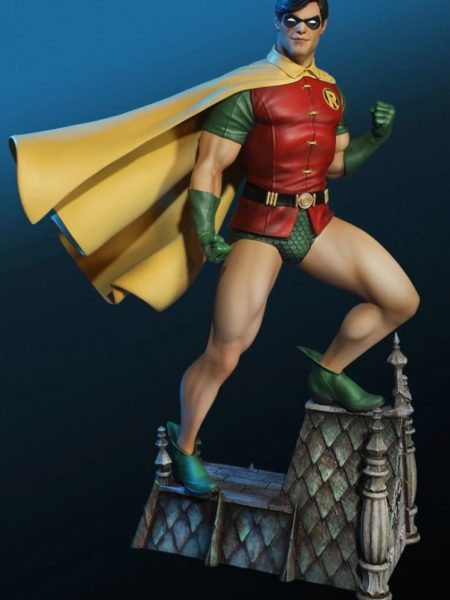 tweeterhead-dc-super-powers-collection-robin-maquette-toyslife-icon