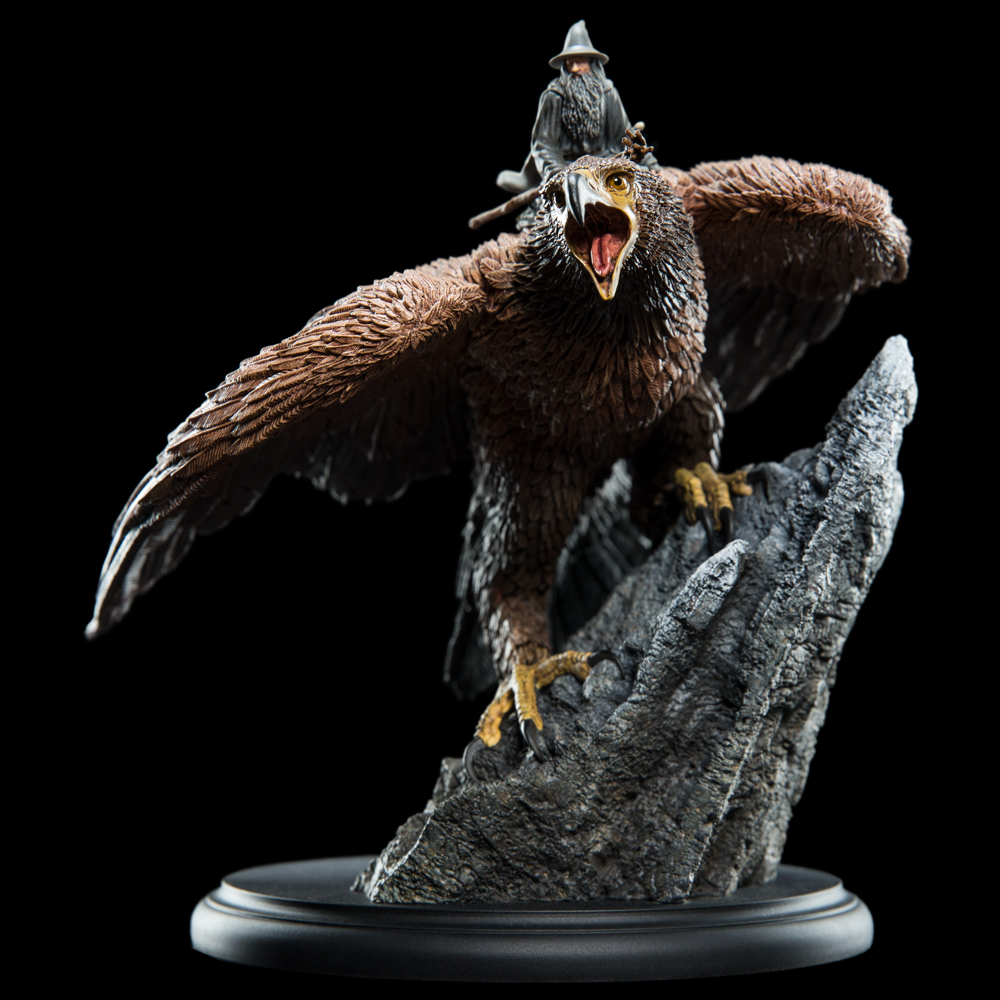 Weta The Lord Of The Rings Gandalf On Gwaihir Statue