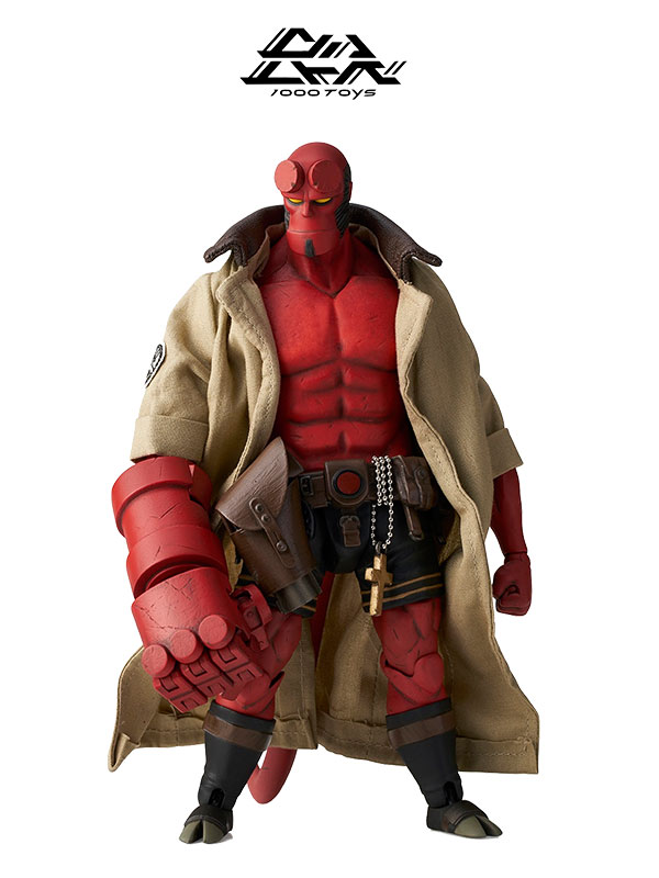 1000Toys Hellboy Mike Mignola 1:12 Figure
