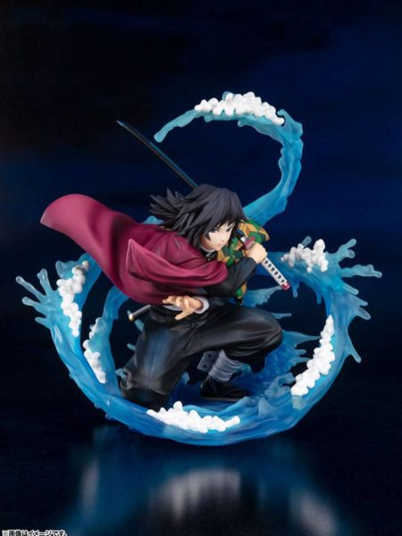 Bandai Demon Slayer Kimetsu No Yaiba Tomioka Giyu Water Breathing Figuarts Zero