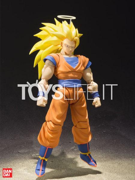 Bandai Dragonball Z  Son Goku SS3 S.H. Figuarts Figure
